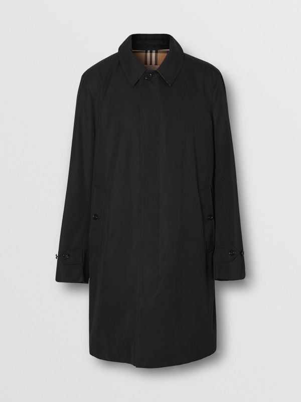 The Pimlico Heritage Car Coat in Black - Men | Burberry - cell image 3