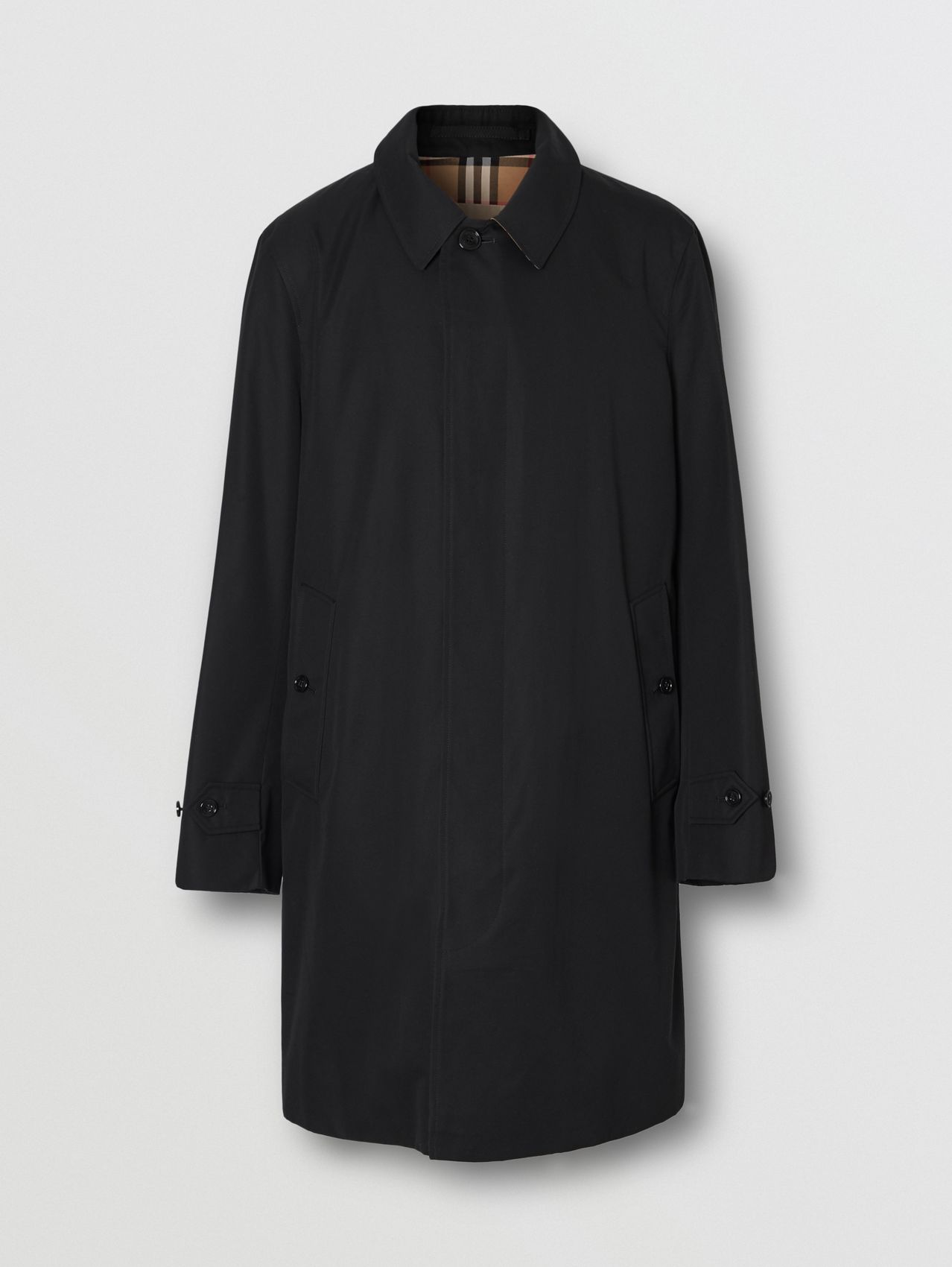 The Pimlico Heritage Car Coat (Schwarz)