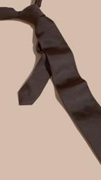 Modern Cut Silk Twill Tie