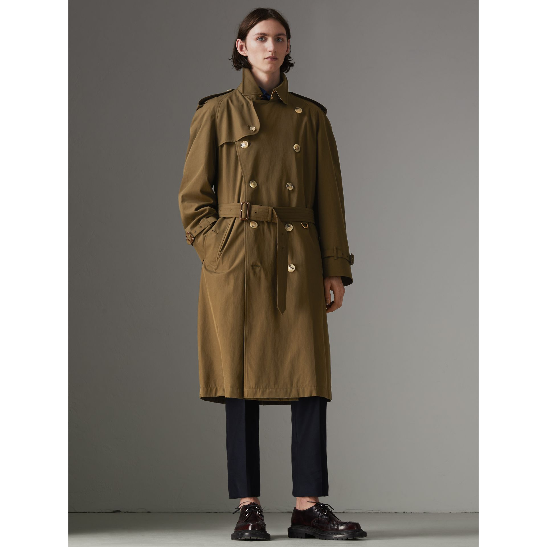 The Westminster Heritage Trench Coat in Dark Military Khaki - Men | Burberry - gallery image 9