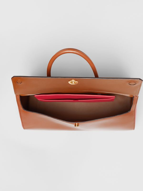 Borsa Elizabeth media in pelle (Marrone Malto) - Donna | Burberry - cell image 3