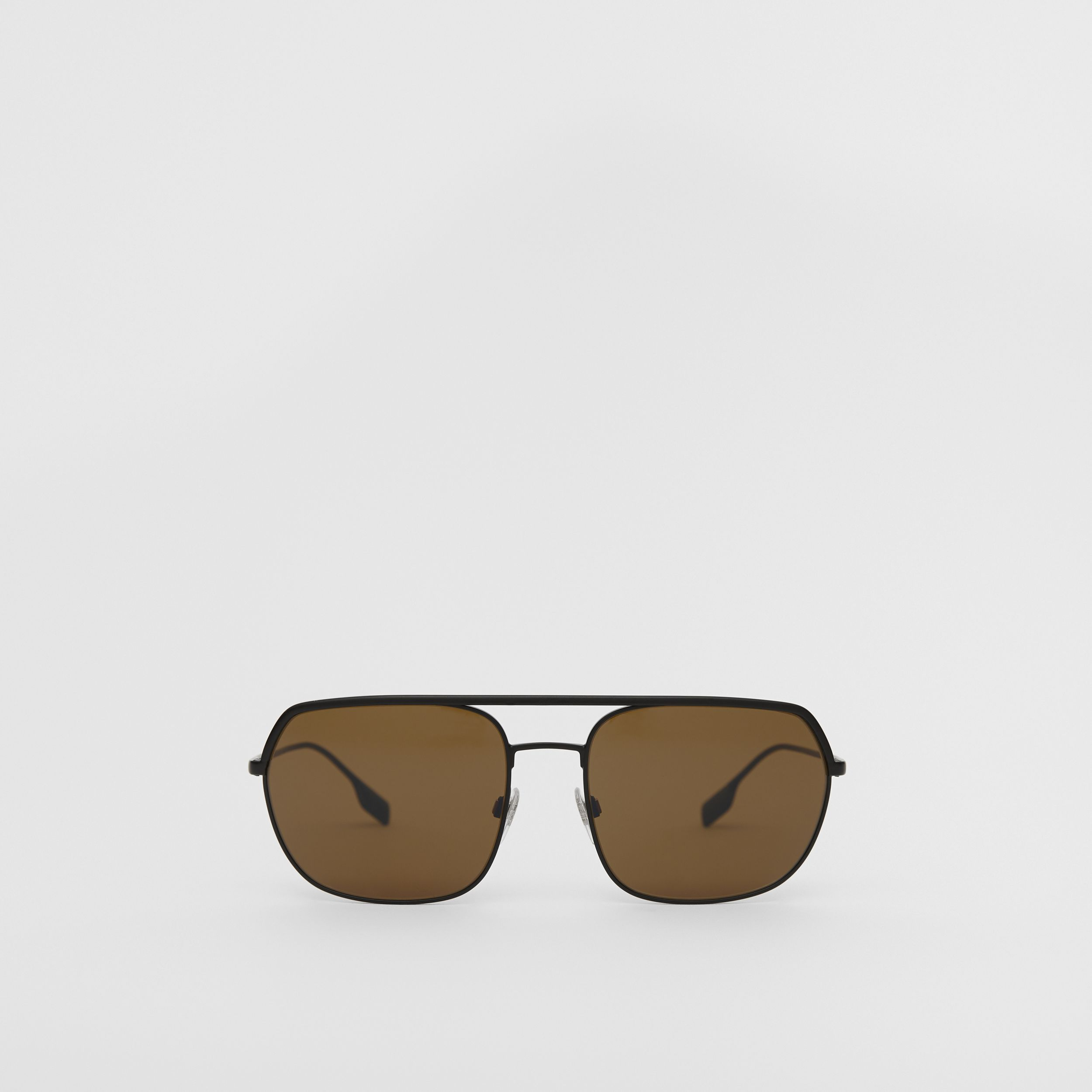 Square Pilot Sunglasses - Men | Burberry - 1