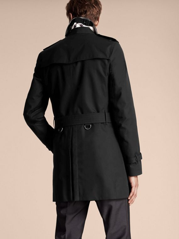 Noir The Sandringham – Trench-coat Heritage mi-long Noir - cell image 2