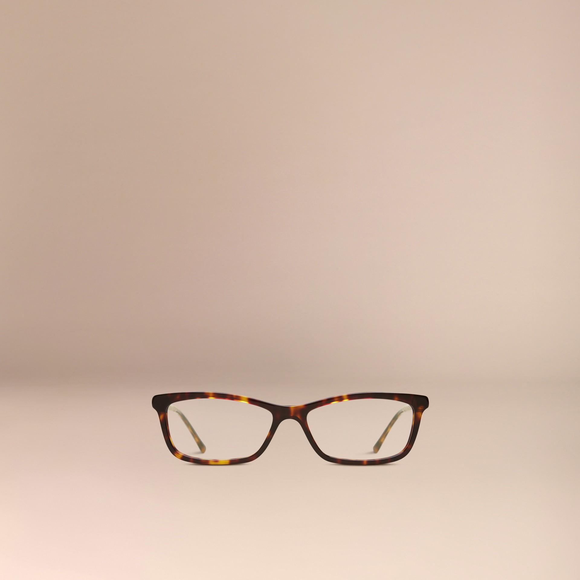 Metallic Detail Cat-eye Optical Frames - gallery image 2