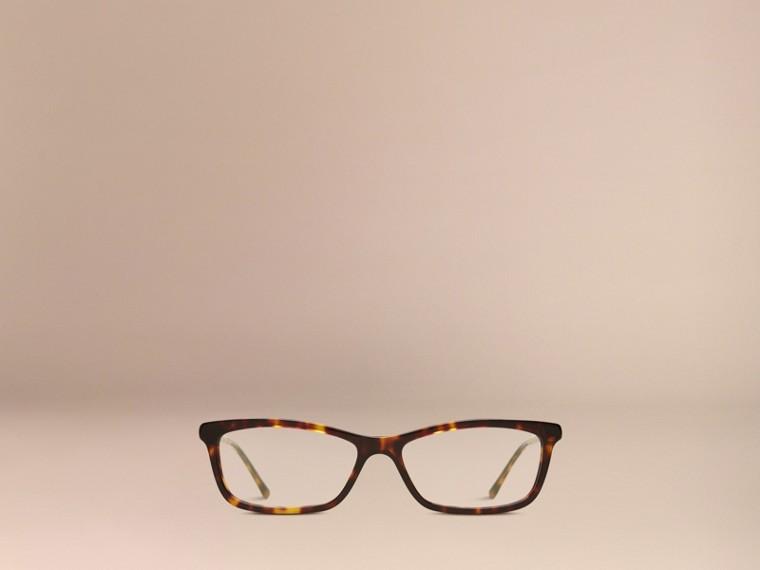 Metallic Detail Cat-eye Optical Frames - cell image 1