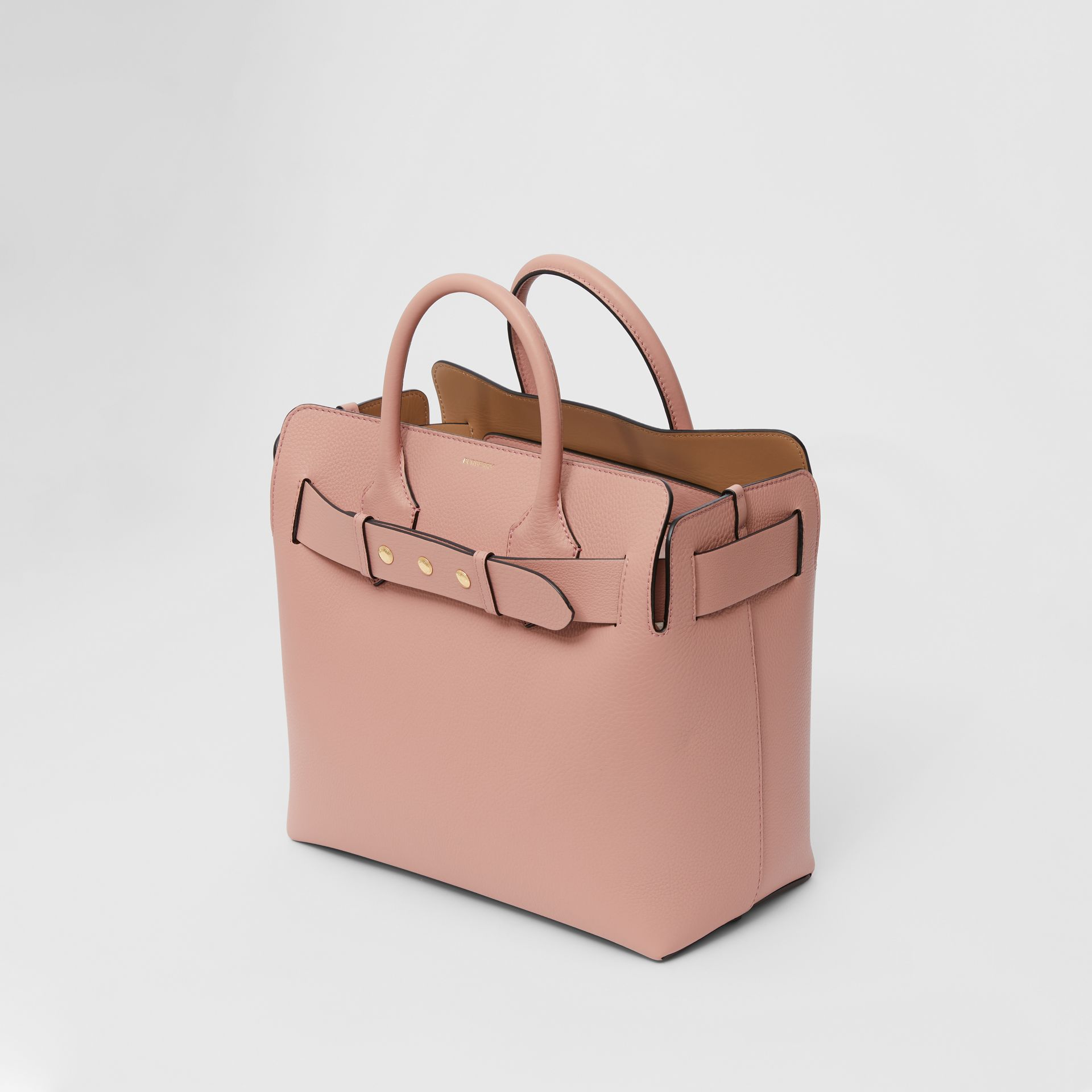 The Medium Leather Triple Stud Belt Bag in Ash Rose - Women | Burberry United States - gallery image 2