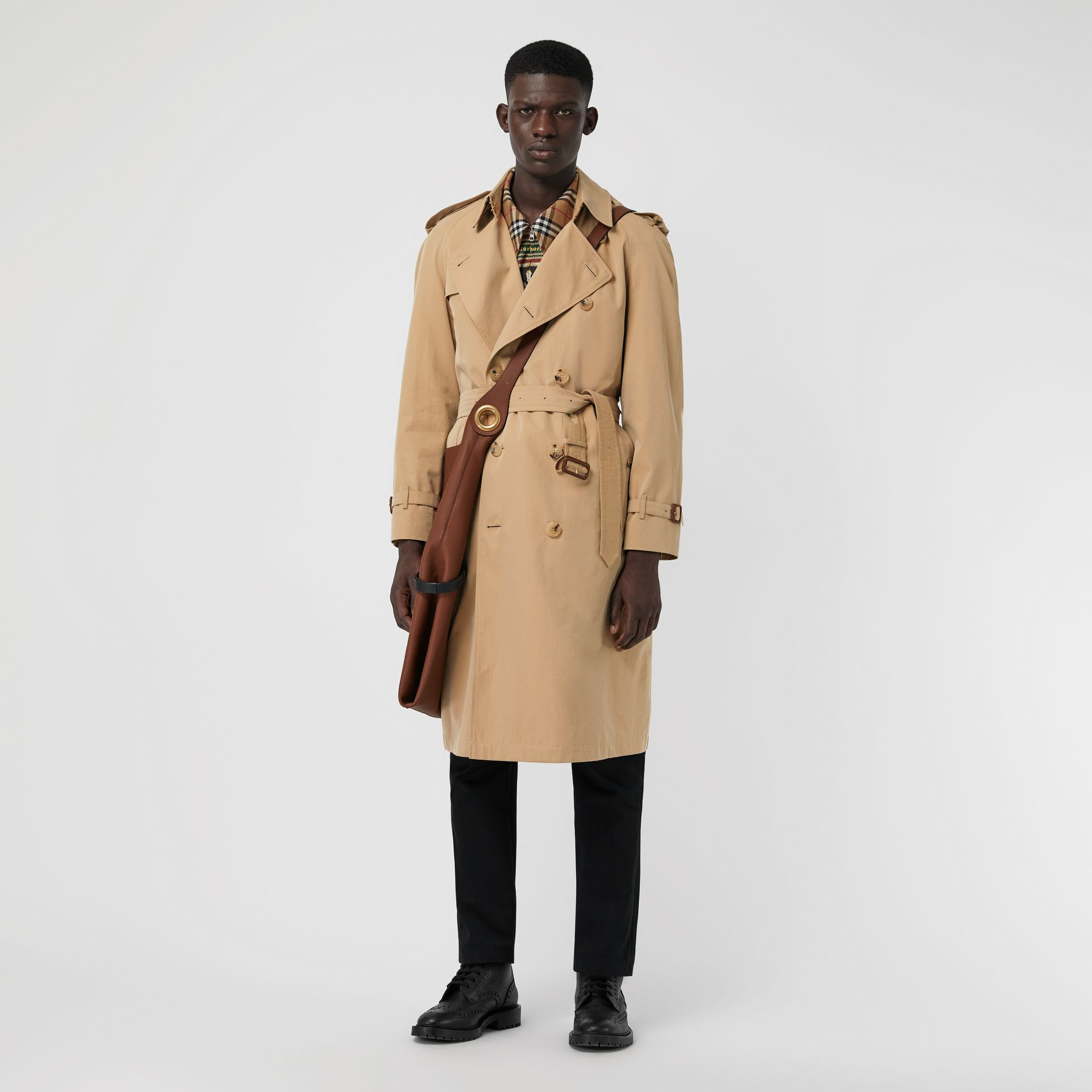 Trench coat Heritage The Westminster (Miele) - Uomo | Burberry - immagine della galleria 0
