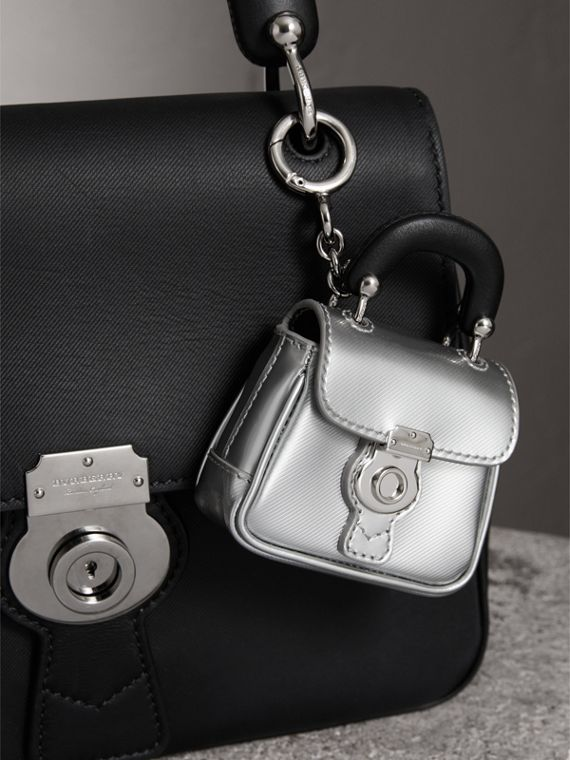 The DK88 Charm in Silver - Women | Burberry - cell image 2