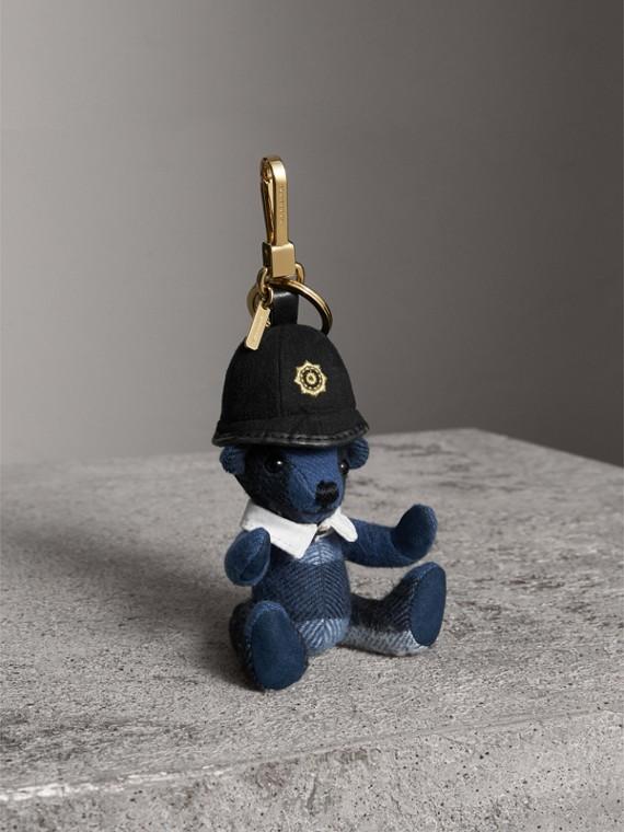 The Bobby Thomas Bear Charm in Cadet Blue