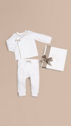 Two-piece Cotton Baby Gift Set