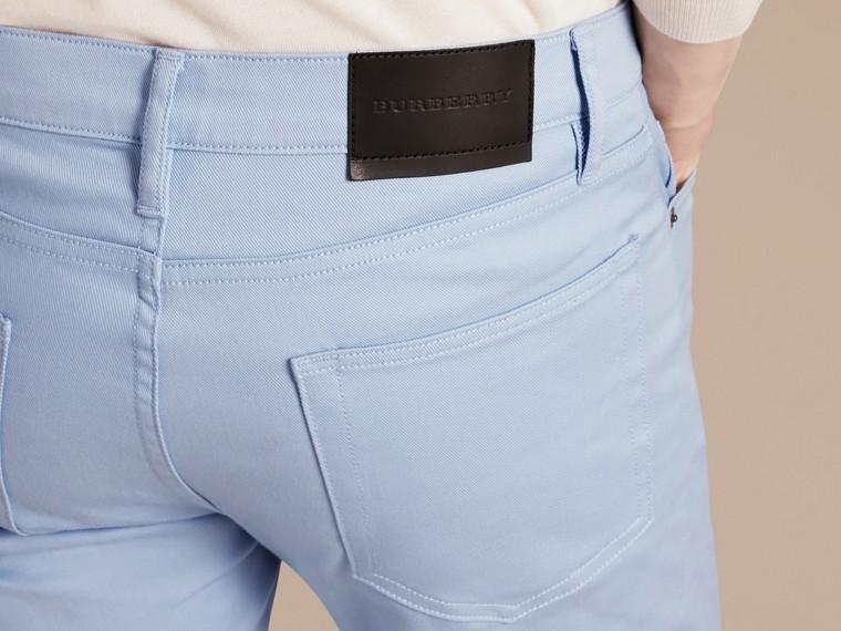 Bleu clair Jean slim en denim stretch japonais Bleu Clair - cell image 1