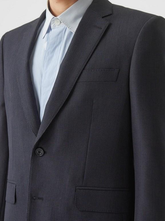 クラシックフィット パピートゥースチェック ウールモヘア スーツ (ネイビー) - メンズ | バーバリー - cell image 1