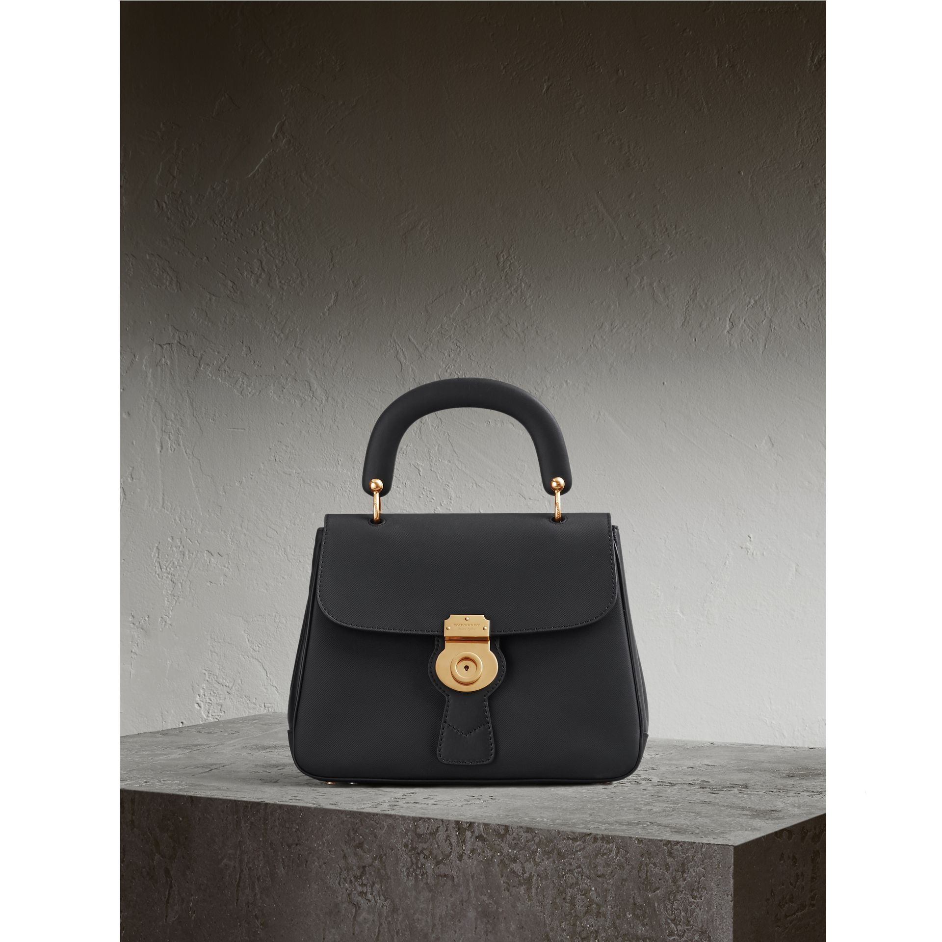 The Medium DK88 Top Handle Bag Black - gallery image 1
