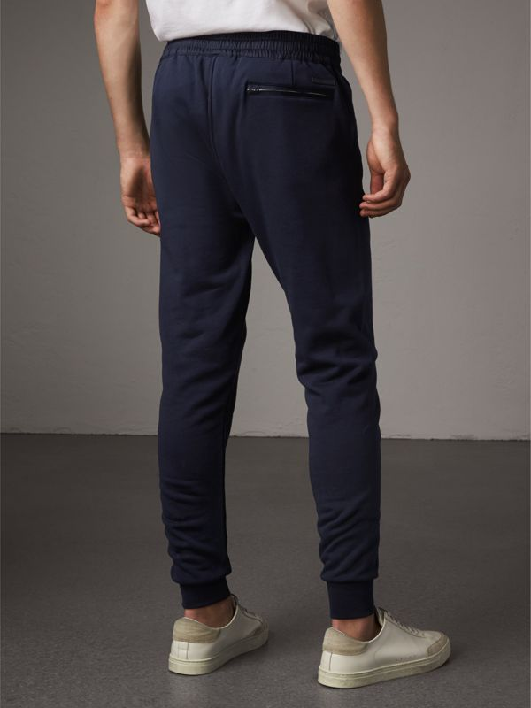Cotton Sweatpants in Navy - Men | Burberry - cell image 2