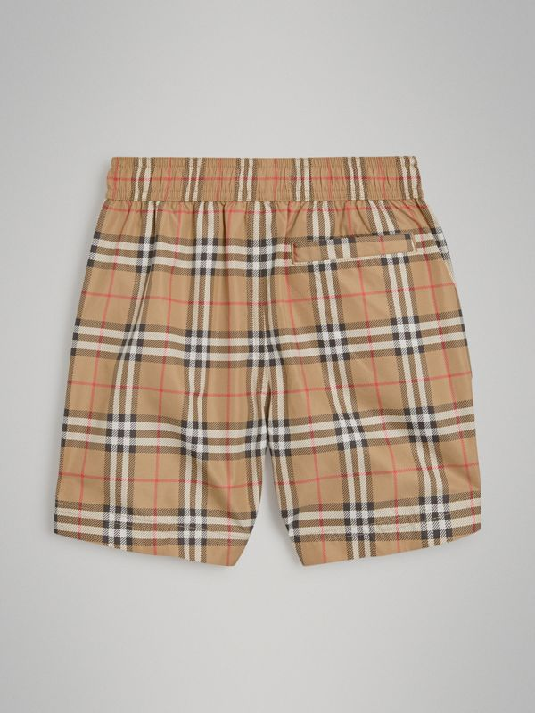 Vintage Check Swim Shorts in Camel | Burberry - cell image 3