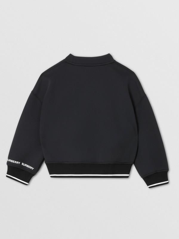 Sweat-shirt en néoprène à imprimé cierge magique (Noir) | Burberry Canada - cell image 3