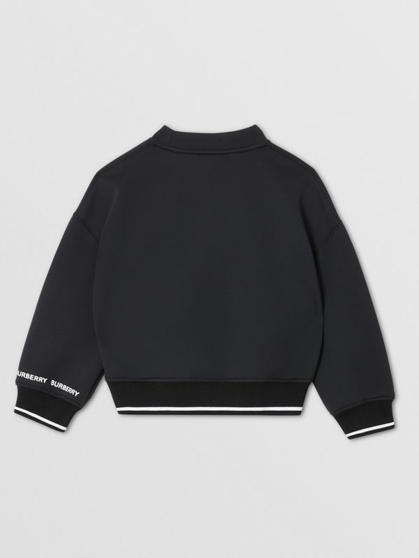 Sparkler Print Neoprene Sweatshirt in Black | Burberry Hong Kong S.A.R - cell image 3