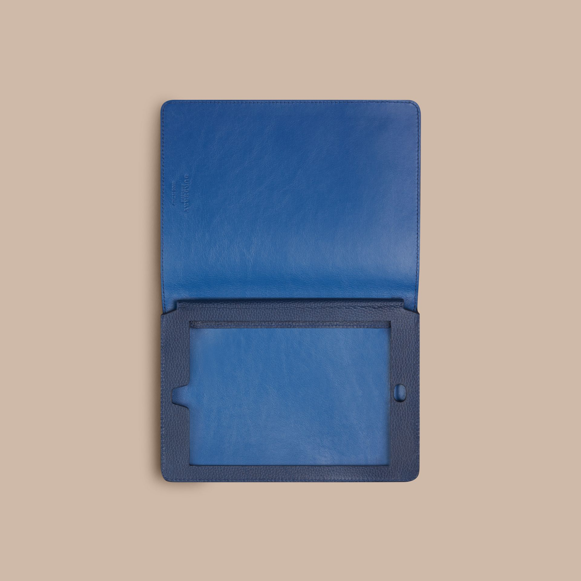 Bright navy Grainy Leather iPad Mini Case Bright Navy - gallery image 3