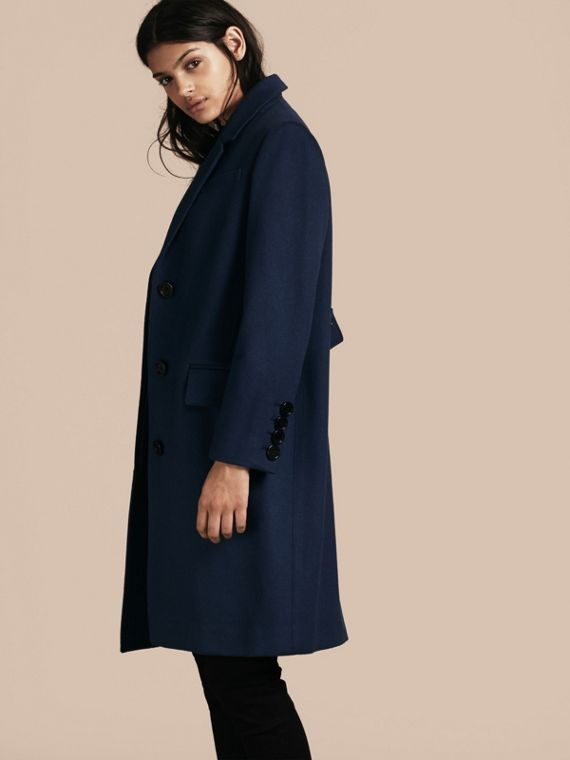 Navy intenso Cappotto sartoriale in cashmere Navy Intenso - cell image 2