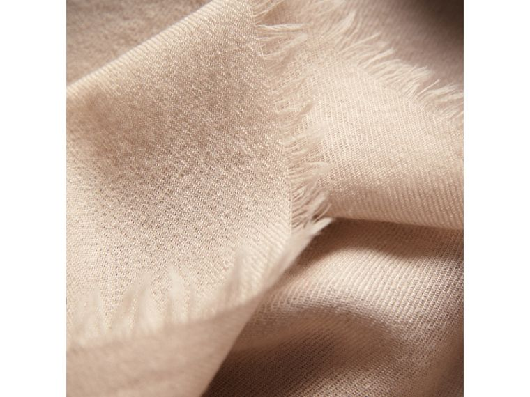 The Lightweight Cashmere Scarf in Stone | Burberry Australia - cell image 1