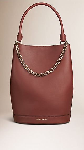 The Bucket Bag in Leather