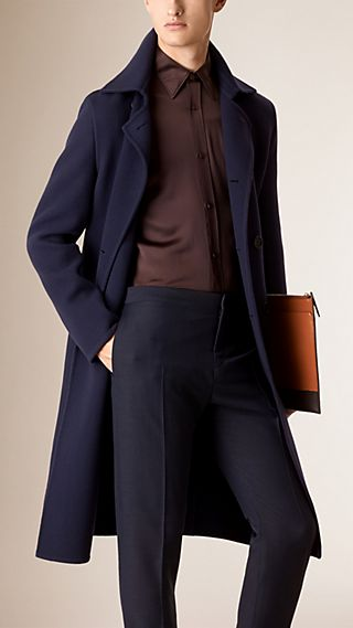 Unlined Wool Overcoat