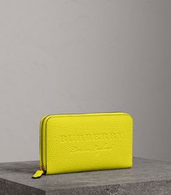 Burberry Wallet Yellow