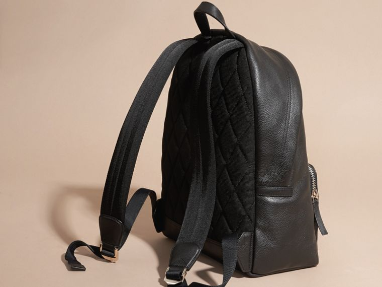 Grainy Leather Backpack - cell image 4