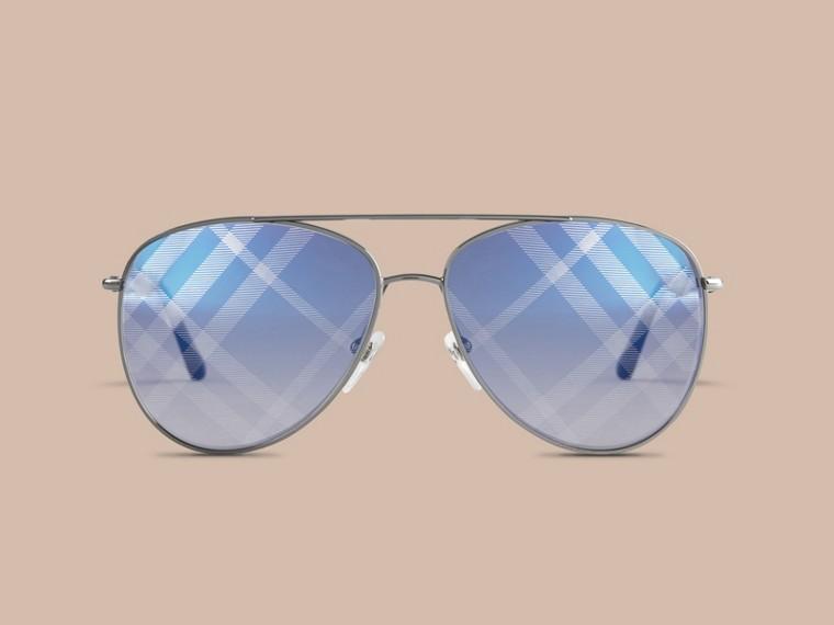 Check Lens Aviator Sunglasses - cell image 1