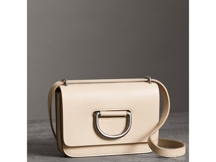 The Mini Leather D-Ring Bag in Stone - Women | Burberry - cell image 4