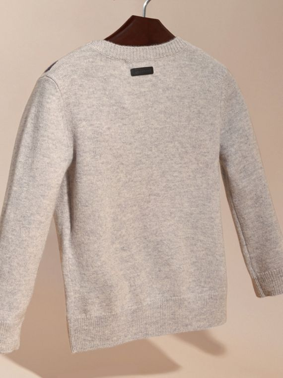 London Intarsia Cashmere Sweater - cell image 3