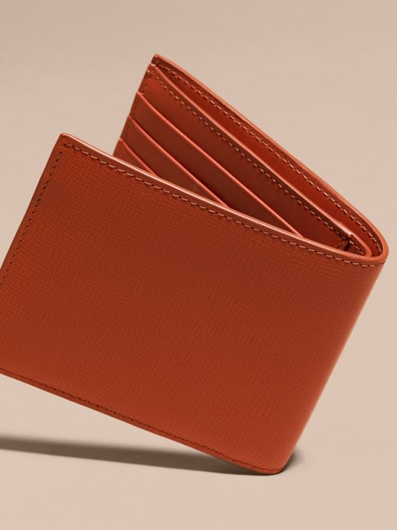 London Leather ID Wallet Burnt Sienna - cell image 3