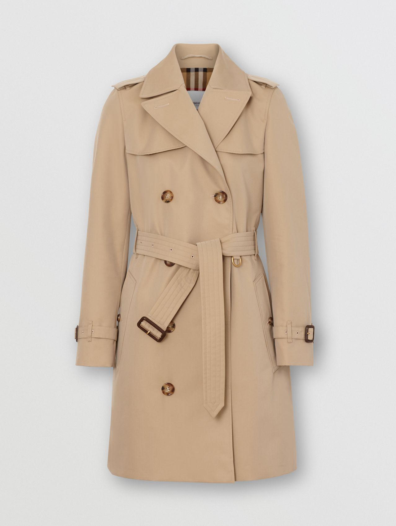 The Short Islington Trench Coat in Honey