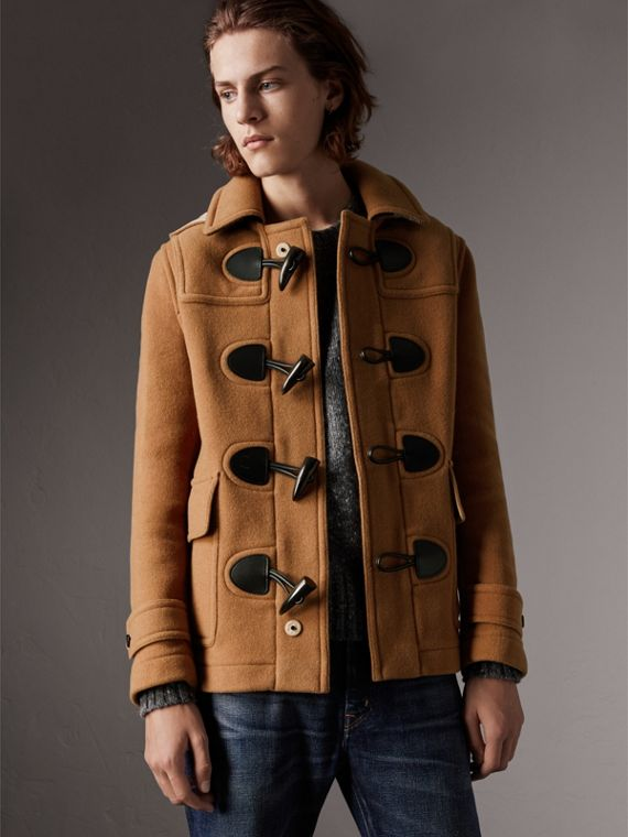 The Plymouth Duffle Coat in Mid Camel