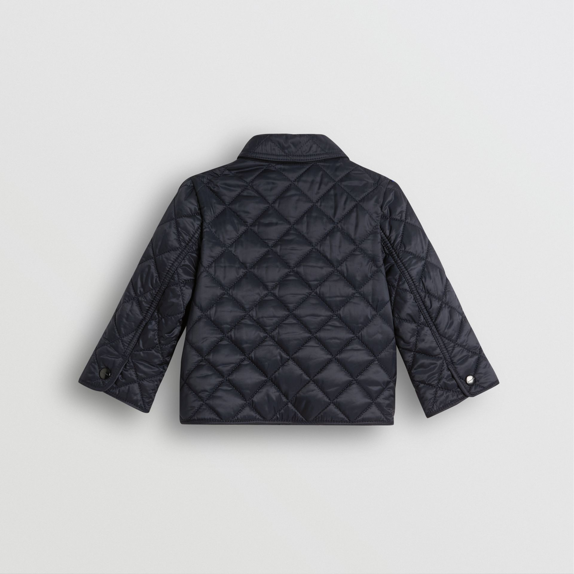 Lightweight Diamond Quilted Jacket in Ink - Children | Burberry United States - gallery image 3
