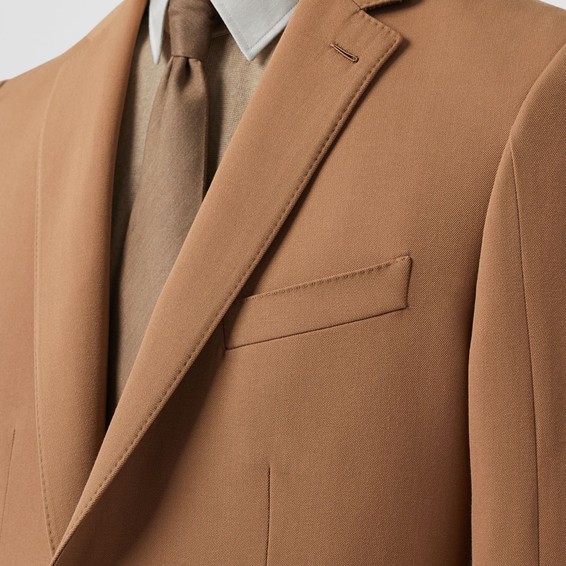 Camel Hair Coat with Detachable Wool Jacket in Warm - Men | Burberry - gallery image 1