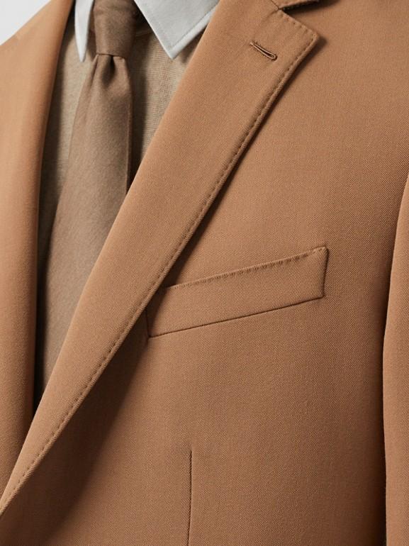 Manteau en poil de chameau avec veste amovible en laine (Camel Intense) - Homme | Burberry Canada - cell image 1