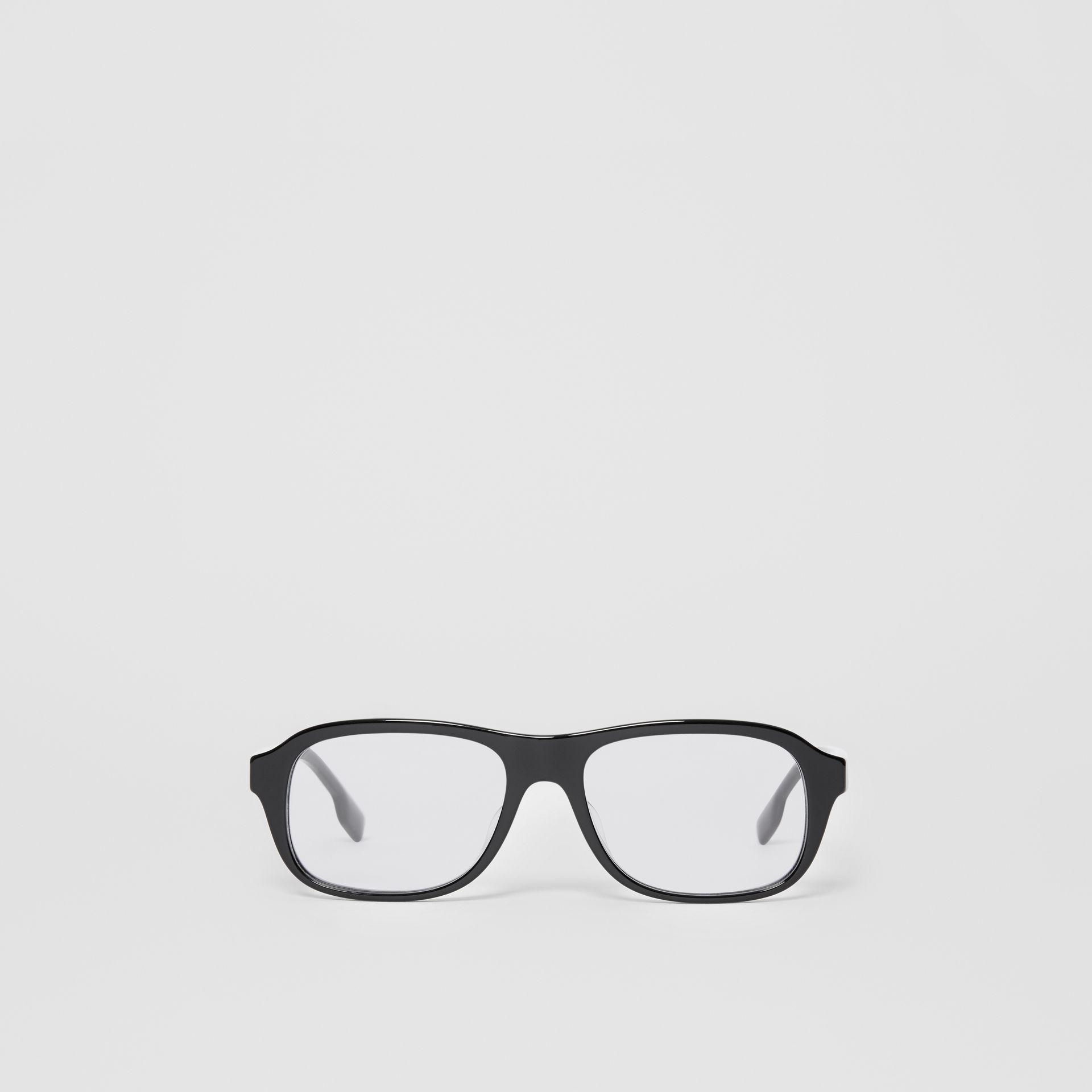 Rectangular Optical Frames in Black - Men | Burberry - gallery image 0