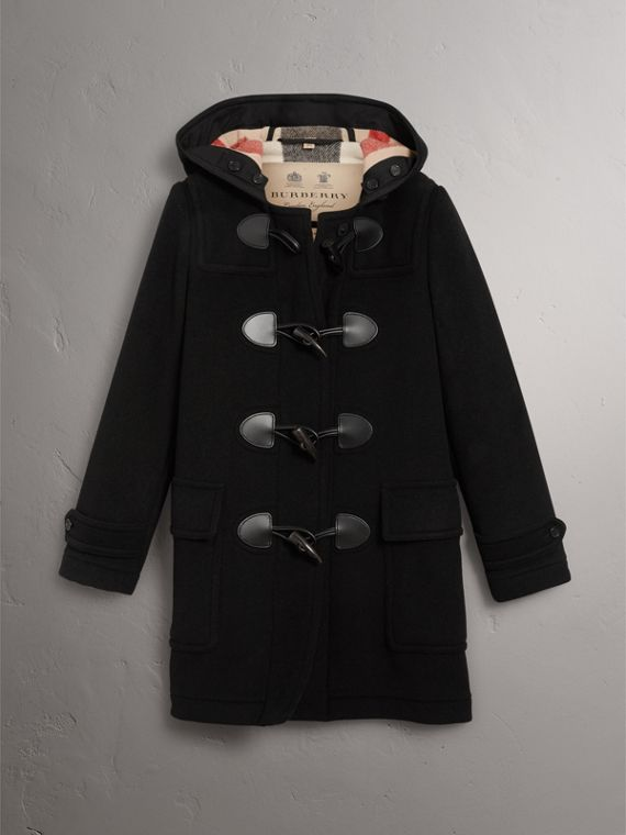 The Mersey Dufflecoat (Schwarz) - Damen | Burberry - cell image 3