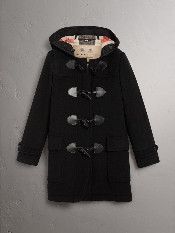 The Mersey Duffle Coat in Black - Women | Burberry United Kingdom - cell image 3