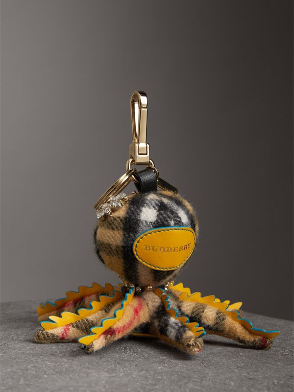 Ciondolo in cashmere Sally The Octopus (Giallo Antico/multicolore) | Burberry - cell image 3