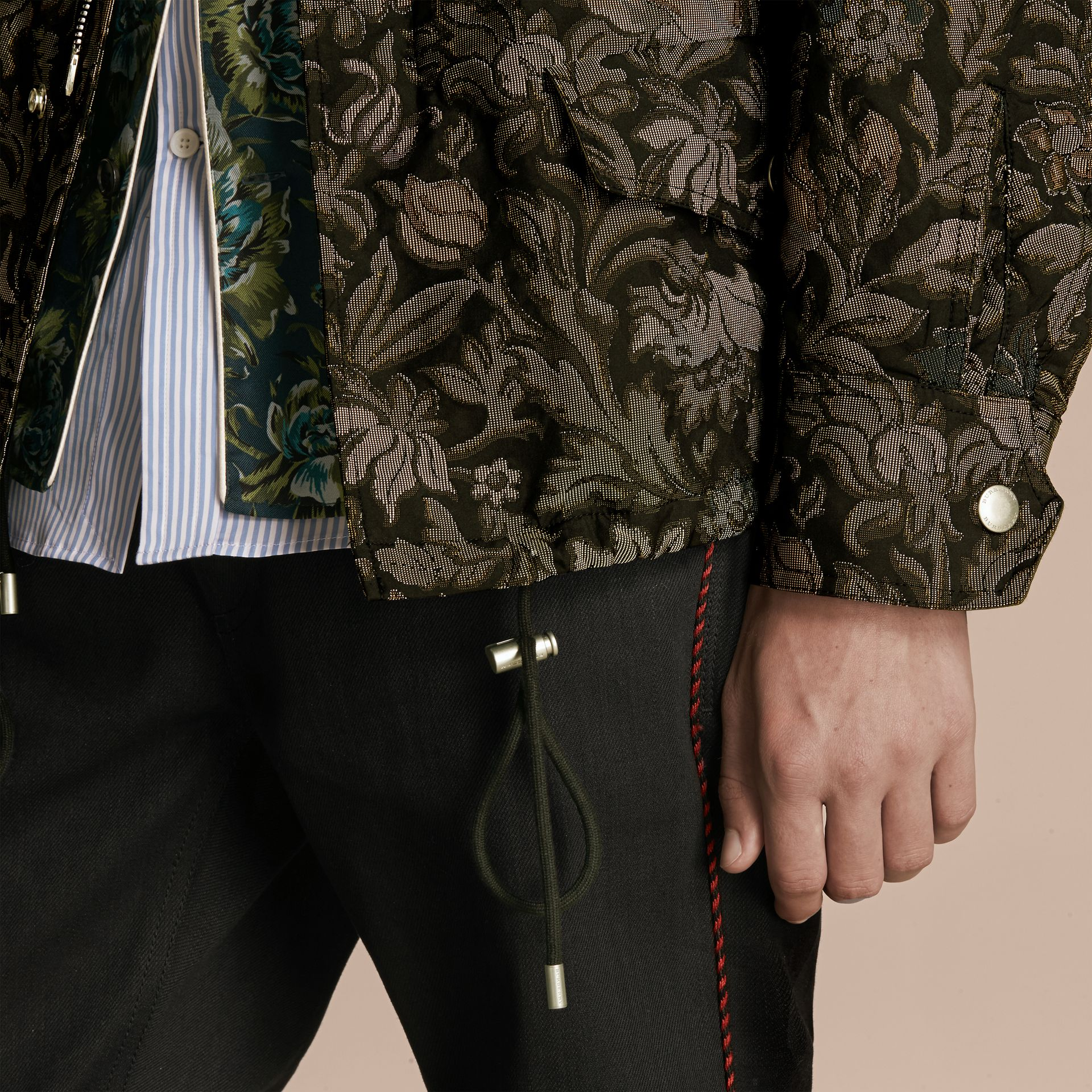 Sage The Floral Field Jacket - gallery image 6