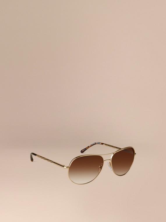 Lunettes de soleil Aviator – Collection Gabardine
