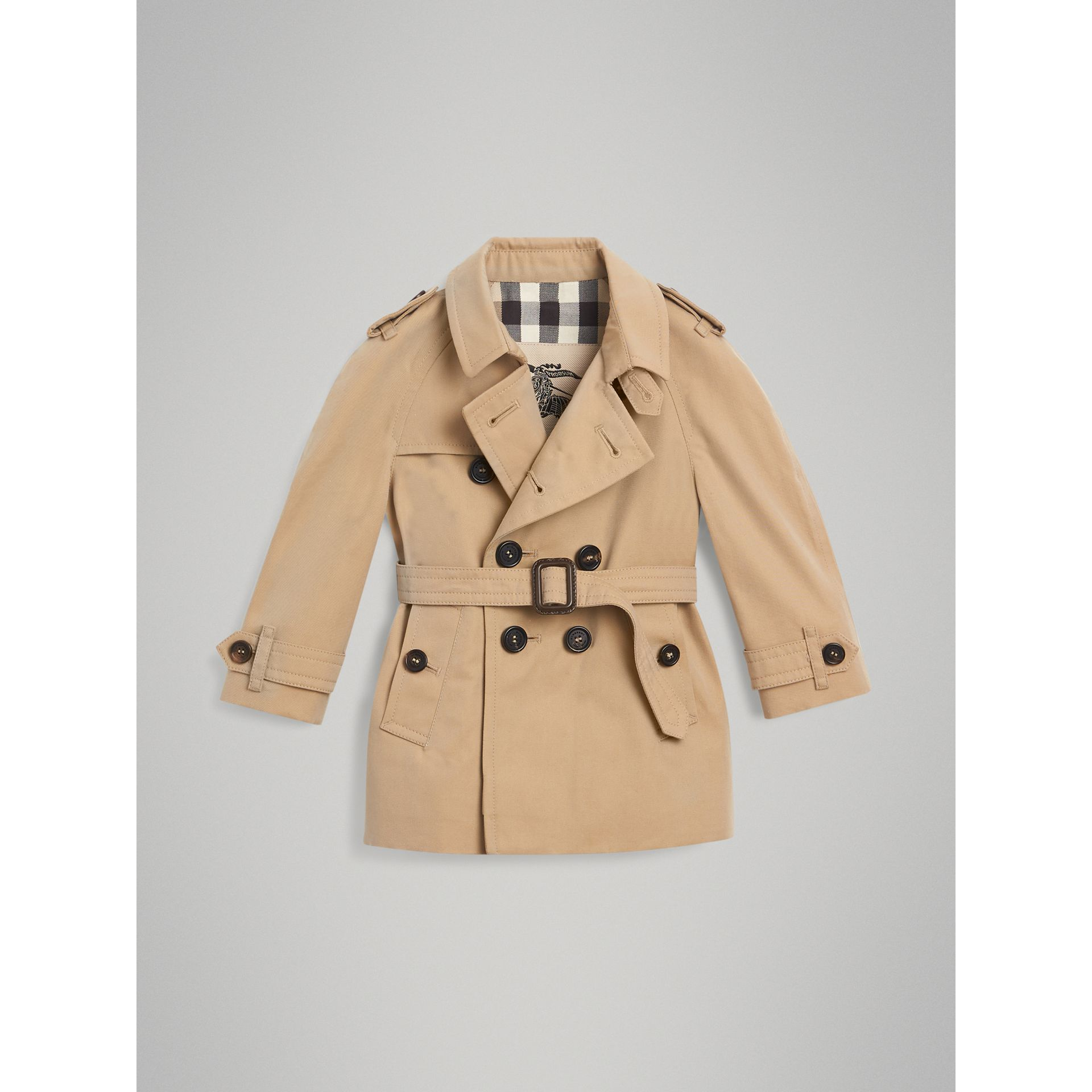 Trench The Wiltshire (Miel) | Burberry - photo de la galerie 2