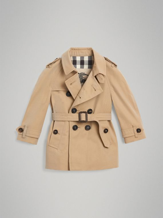 The Wiltshire Trench Coat in Honey | Burberry Singapore - cell image 2