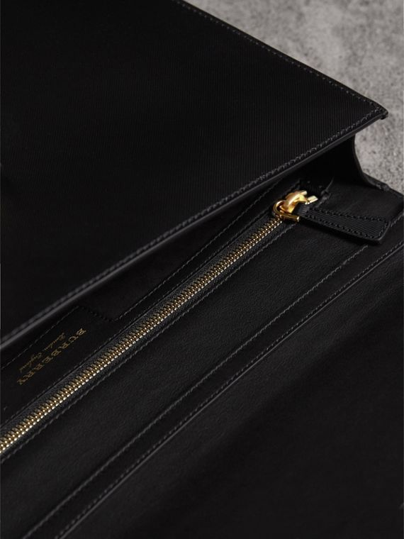 The Large DK88 Document Case in Black/black - Men | Burberry - cell image 3
