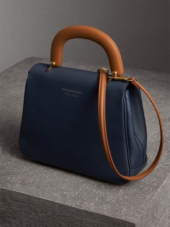 The Medium DK88 Top Handle Bag in Ink Blue - Women | Burberry - cell image 2