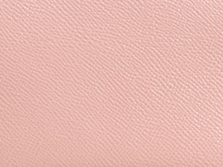 Patent London Leather Ziparound Wallet in Ash Rose - cell image 1