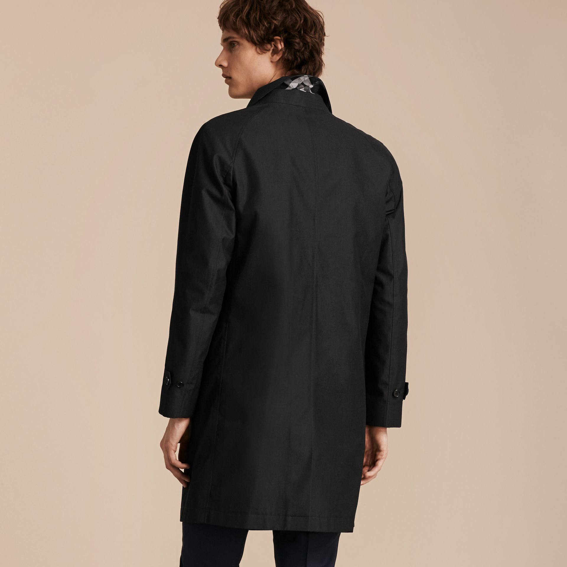 Mercury Cotton Gabardine Car Coat - gallery image 3