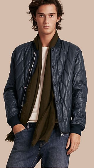 Quilted Lambskin Jacket